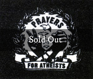 Prayers for Atheists 3×4 Patch (Black)