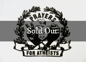 Prayers For Atheists 3×4 Patch (White)